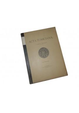 Acta Tomiciana Tomus Nonus T. IX 1876r OPRAWA