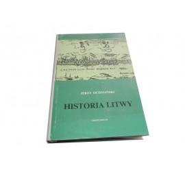 Jerzy Ochmański Historia Litwy