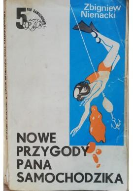 Nowe przygody Pana Samochodzika Biała seria 5 Zbigniew Nienacki (ilu. Szymon Kobyliński)