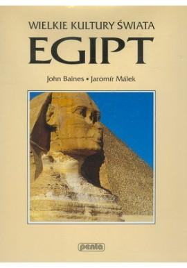 Egipt Seria Wielkie Kultury Świata John Baines, Jaromir Malek