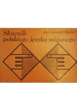 Słownik polskiego języka miganego Józef Kazimierz Hendzel