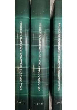 Problemy naukowo-badawcze budownictwa Mirosław Broniewicz, Jolanta A. Prusiel (red.) (kpl - 3 tomy)