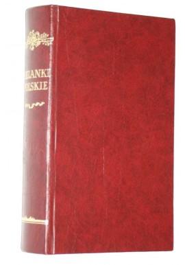 Sielanki Polskie z różnych autorów zebrane (reprint z 1778r.)