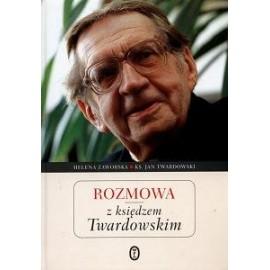 Rozmowa z księdzem Twardowskim Helena Zaworska, ks. Jan Twardowski